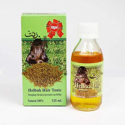 Baqais Helbah Hair Tonic Helba Fenugreek Oil Strength Natural Treatment 125 ml