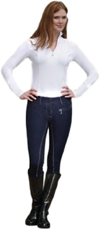 Goode Rider Ladies L S Ideal Show Shirt White Large