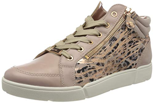 Preisvergleich Produktbild ara Damen ROM Hohe Sneaker,  Beige (Puder 15)