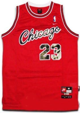 Amazon.com : Michael Jordan #23 Chicago Bulls Retro NBA Jersey Red ...