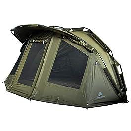 CampFeuer tente de peche à la carpe Storm I 2 place tente carpe I 2 Personnes Tente de pêche I avec colonne d'eau de…