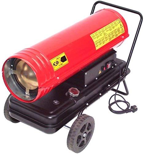 Calentador diésel de 30 kW 55197, calentador de aceite, calefactor de construcción, calentador de aceite, protección contra sobrecalentamiento, indicador de llenado, encendido electrónico, 230 V AWZ