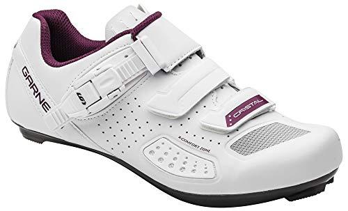 Louis Garneau, Women's Cristal 2 Cycling Shoes, White, US (8), EU (39)