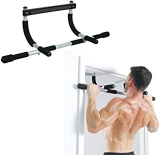 Multi Grip Chin Up/Pull Up Bar Heavy Duty Doorway Chin Pull Up Bar Exercise Fitness Gym Home Door Mounted Trainer Plus(Sty...