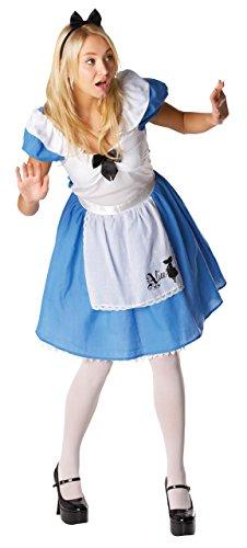 Disney - Alice In Wonderland Costume - ADULT UK MEDIUM (disfraz)