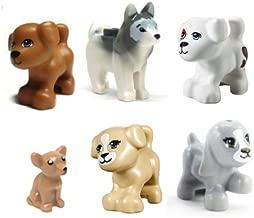 LEGO Friends 6 pcs HUGE DOG LOT minifigure figure minifig pet shop boy girl animal