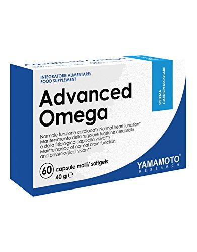 Yamamoto Research Advanced Omega Integratore Alimentare - 60 Capsule