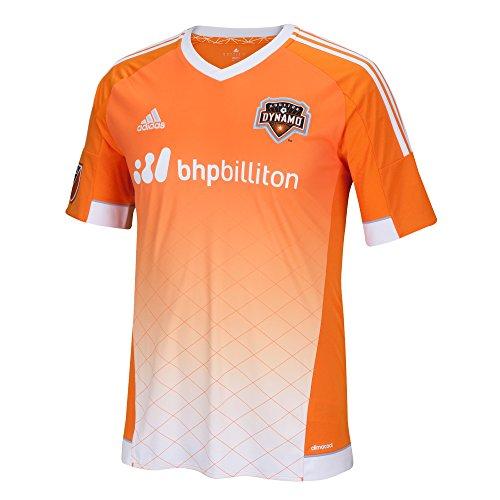 MLS Houston Dynamo Men's Replica Short Sleeve Jersey, X-Large, Orange