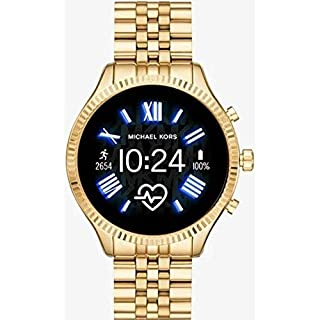 Michael Kors Access  Lexington 2 Touchscreen  Stainless Steel  Smartwatch, Gold Tone-MKT5078 (B07TDVTXMS) | Amazon price tracker / tracking, Amazon price history charts, Amazon price watches, Amazon price drop alerts
