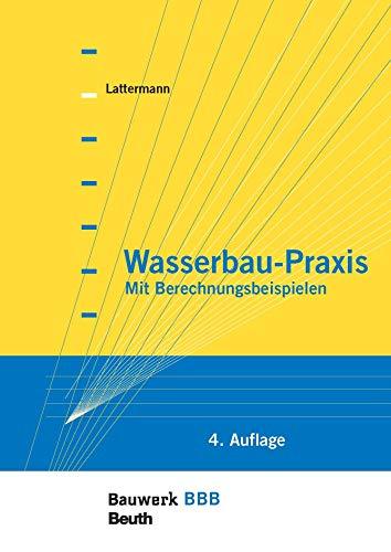 Wasserbau-Praxis: Mit Berechnungsbeispielen Bauwerk-Basis-Bibliothek