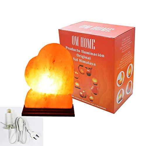 Lampada di sale originale Himalaya a forma di uovo/cuore/ciotola/cestello lampadina...