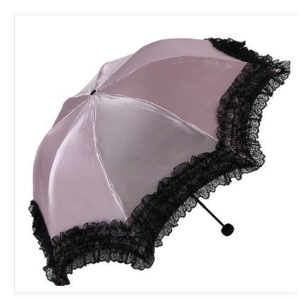 YNG Regenschirm/Super Sun Regenschirm/Damen Vinyl Regenschirm/Anti-UV-Sonnenschirm/Lace Lace Umbrella,A55