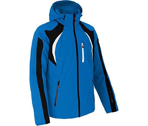 Bergson LOKKA | wattierte Herren Skijacke mit 20.000er Wassersäule, Strong Blue [388], 54 - Herren