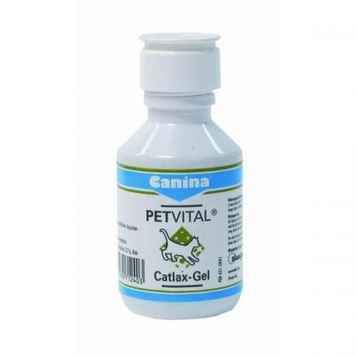 Canina Pharma PETVITAL Catlax-Gel 100 ml, Katzenpflege, Tierpflege