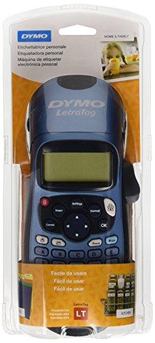 Rotuladora Dymo LetraTag LT-100H | Impresiín etiquetas adhesivas y compatible con etiquetas de tela, metal o papel.