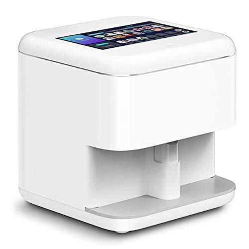 ACCDUER Uñas máquina de impresión 3D Nail Art Impresora de la máquina portátil de Clavo de la Pintura del Clavo de DIY Máquina Máquina móvil WiFi 100-240V Transferencia