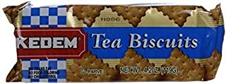 Kedem Tea Biscuits, Plain, 4.2-Ounce Packages (Pack of 24) ( Value Bulk Multi-pack)