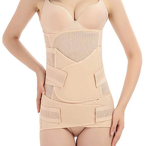 Beige Cintur/ón de adelgazamiento posparto Soporte para la maternidad el/ástico Soporte para la maternidad posparto Envoltura de cintura Cintur/ón de adelgazamiento corporal