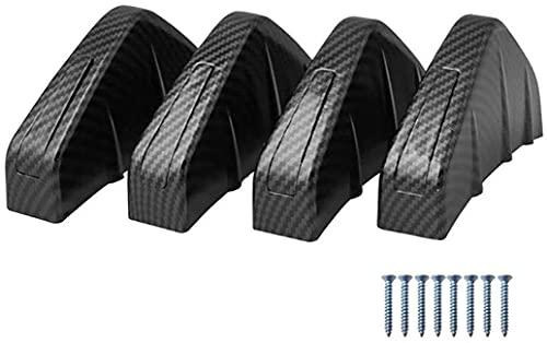 Coche Difusor Paragolpes Trasero Spoiler para Opel Astra J H G Corsa D, Decoración Chasis Car Styling Antichoque Accesorios