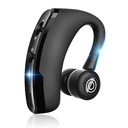 SHENXI Auricular Bluetooth 5.0 Auricular Manos Libres,25H Conversación con Micrófono HD Cancelación de Ruido,Pueden Girar 180°para iOS Android Coche Oficina etc Deportivo y Driying