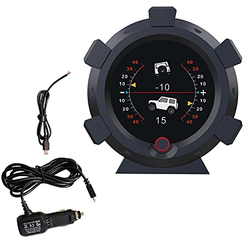 ourantools AUTOOL X95 GPS Speed Slope Meter, Digital Inclinometer Level & Angle Gauge, Head Up Display Speedometer, Bevel Tilt Gauges with Multifunctional Function for All DC5-28V Cars