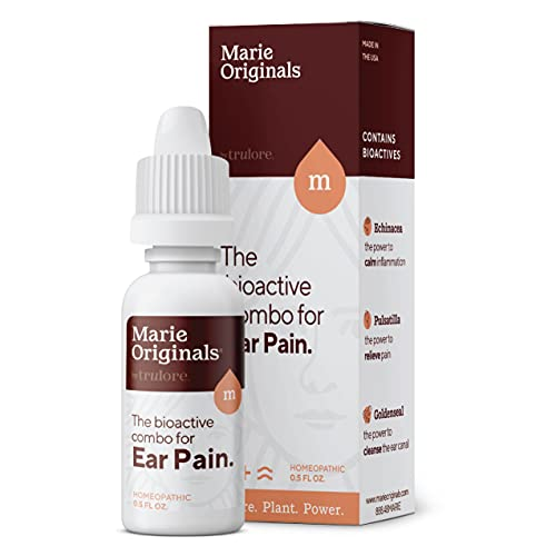 Natural Earache Drops for Ear Infection Prevention, Pain Relief,...