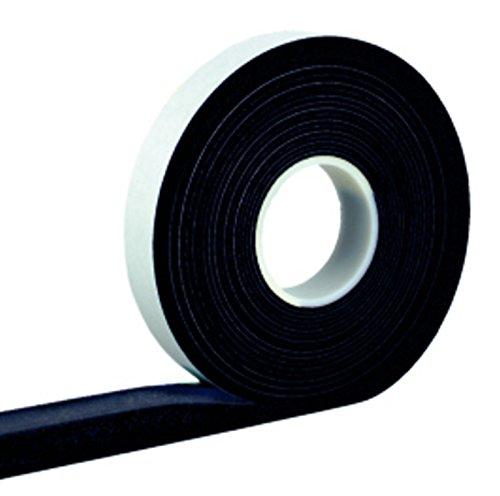 Kompriband 10/3 anthrazit 10 m Rolle, Bandbreite 10mm, expandiert von 3 auf 15mm, Fugendichtband, Komprimierband