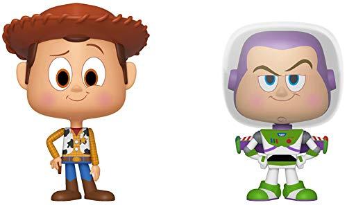 Funko 37005 VYNL: Toy Story-Woody and Buzz Sammelfigur, Mehrfarbig, Einheitsgröße