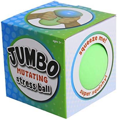 Cool Builders Jumbo Mutating Squishy Stress Ball Anti Stress Sensory Ball Color Changing Sensory product image