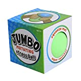 Cool Builders Jumbo Mutating Squishy Stress Ball - Anti Stress Sensory Ball Color Changing Sensory and Concentration Toy