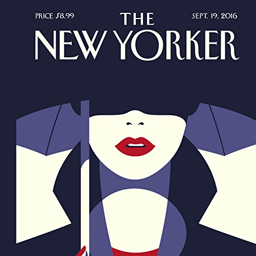 Couverture de The New Yorker, September 19th 2016 (Nick Paumgarten, Jill Lepore, Alexandra Schwartz)
