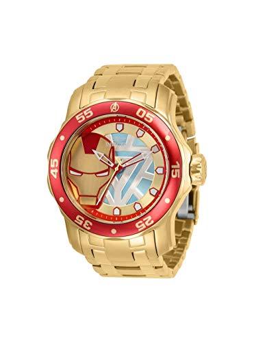 Invicta Marvel Ironman 32423 - Reloj de cuarzo para hombre
