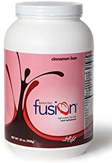 Bariatric Fusion Meal Replacement Cinnamon Bun 32 oz. tub by Bariatric Fusion