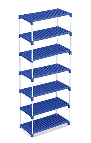 Ebee Blue Multipurpose Rack (7 Step)