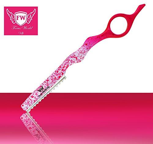 Haarstyling-Rasierer, Effilierschere, Fingerring, Effilierschere, Klingen aus Edelstahl, einzigartiges Design