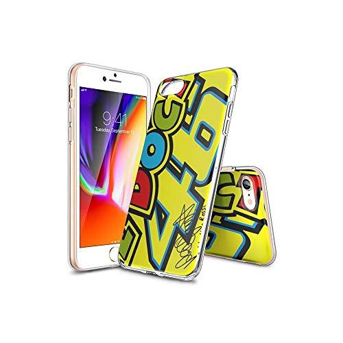TsFKxEU Compatible con iPhone 7 Funda y iPhone 8 Funda diseño de Dibujos Animados, Suave de TPU Protector Delgado a Prueba de Golpes para iPhone 7 / iPhone 8 FKX#C009