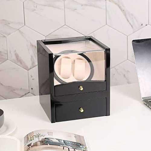 Watch Winder for Single Automatic,Rotating Display Box Storage Case