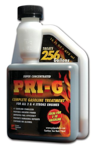 PRI Fuel Stabilizer - Gasoline, 16 Ounce- Fuel Economy Booster