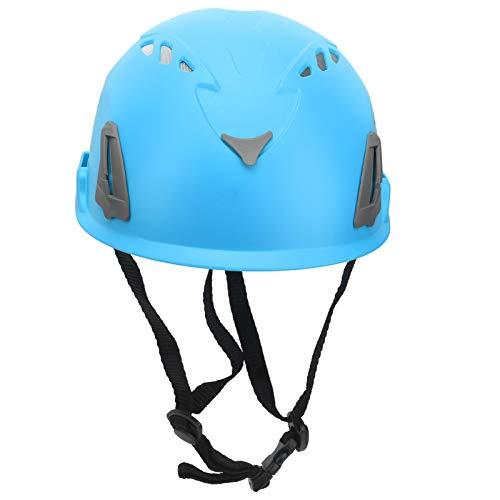 Casque d escalade GUB D8 casque de sécurité extérieur casque réglable adapté à l alpinisme(Bleu)