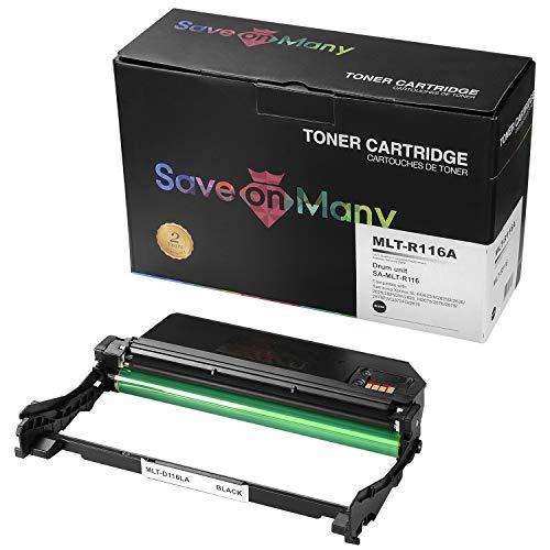 Cartridges Kingdom MLT-R116 Drum Unit /& MLT-D116L Toner Cartridge compatible with Samsung Xpress SL-M2625 M2625D M2675F M2675FN M2676 M2825DW M2825ND M2835 M2835DW M2875FD M2875FW M2875ND M2885FW