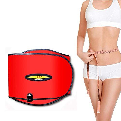 BINGFANG-W DC Elektrische Vibration Abnehmen Massage Gürtel, Far Infrared Heizung Sauna Gürtel mit 4 Motoren und 10 Modi for Damen und Herren, 40-70 ℃ Motors