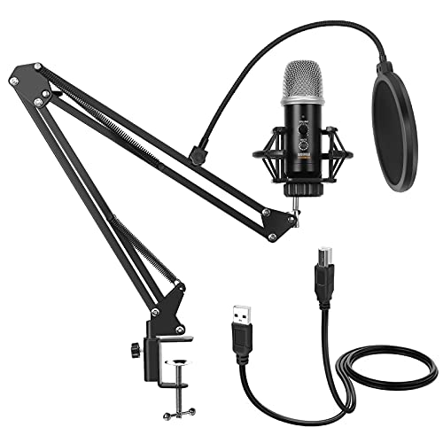 GUDEHOLO USB Microphone for Computer with...