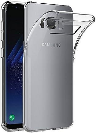 AICEK Funda Compatible Samsung Galaxy S8, Transparente Silicona Fundas para Galaxy S8 Carcasa (5,8 Pulgadas) Silicona Funda Case