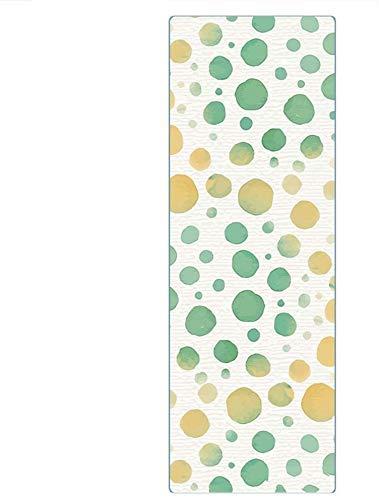 Mats de yoga impreso Manta de yoga de alta temperatura impresa es una manta suave de 185 cm de largo, delgada, antideslizante, absorbente de sudor adecuada para el viaje deportivo al aire libre DSB