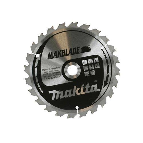 Makita b-08894 Makita b-08894 190 mm stationair zaagblad 190 x 20 x 24T 1 zilver