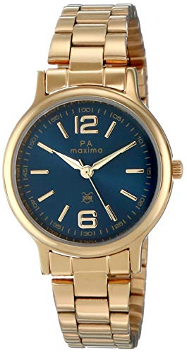 Maxima Analog Blue Dial Women's Watch - 48235CMLY