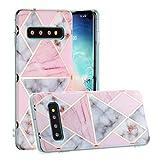 HUAYIJIE YH Coque pour Samsung Galaxy S10+ Plus G975N Coque Phone Case Cover Etui Housse 1