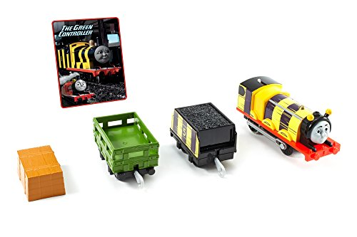 Thomas & Friends Motorized Toy Train and Character Card