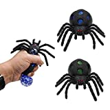 Qyhsmgs Spiders gel stress relief ball stressballs squeeze toys squishy waterjelly beads animals squeezymates sensory calming anxiety balls adults kids teens funny tactile squishies toys