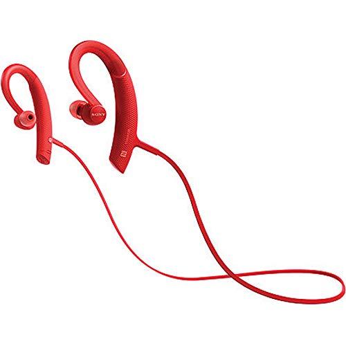 Sony MDRXB80BS/R Premium, Wireless, In-Ear, Sports Headphone, Red